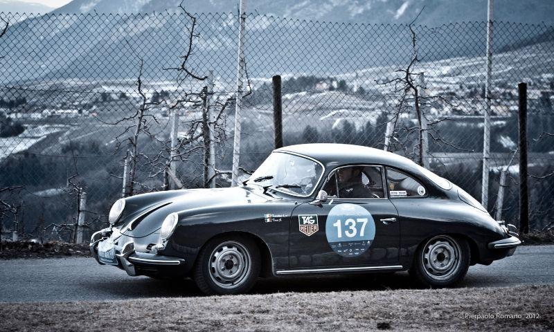 1963 Porsche 356 SC Coupe at Winter Marathon 2012