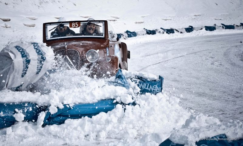 Never before has crashing been so much fun - 1937 Citroen 11 AL Roadster