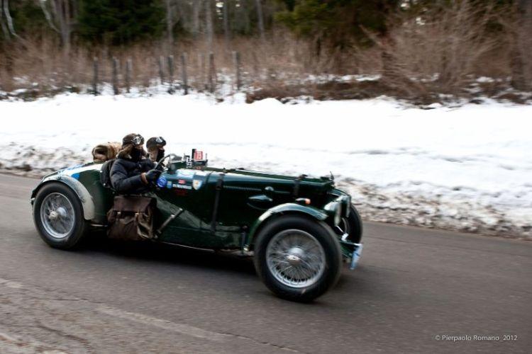 1935 Aston Martin Mk II - Winter Marathon 2012