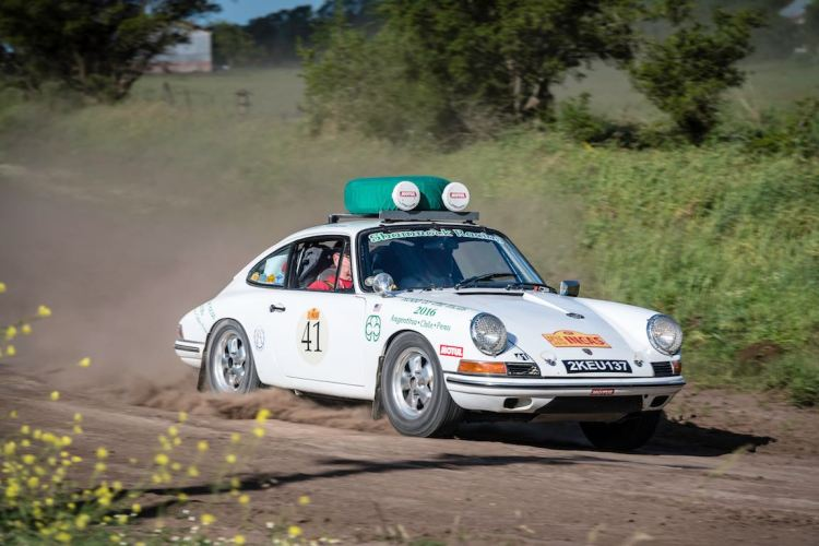 Car 41 Stan Gold(USA) / Brant Parsons(USA)1965 - Porsche 911, Rally of the Incas 2016