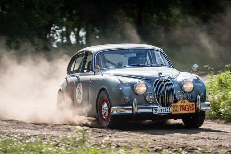 Car 38 Andrea Hammelmann(D) / Paul Henschel(D)1964 - Jaguar MkII, Rally of the Incas 2016