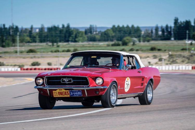 Car 56 Erik van Droogenbroek(NL) / Ferdinand Rahusen(NL)1967 - Ford Mustang, Rally of the Incas 2016