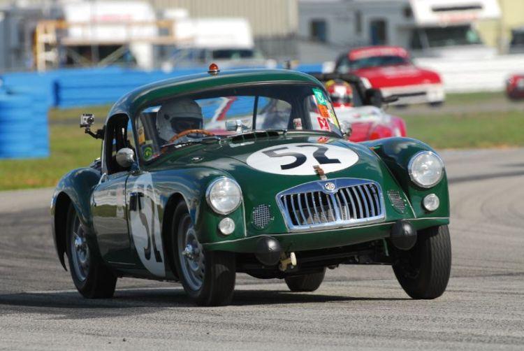 1962 MGA Sebring Coupe- Hugh Burruss.