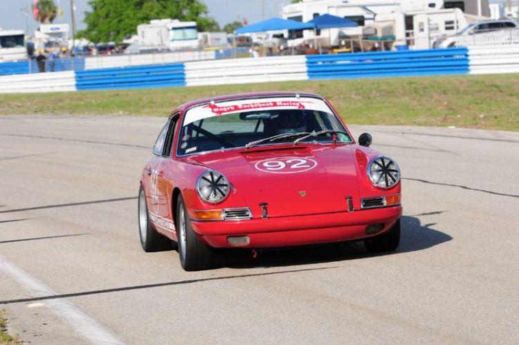 Keith Ennis 1967 Porsche 911S.