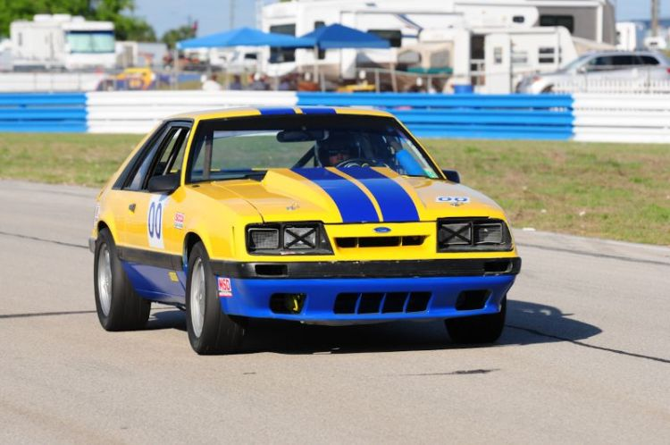 Dale Lagasse- '85 Ford Mustang.