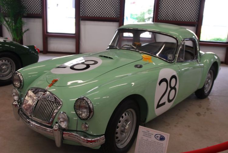 """1959 MG """"A"""" Twin Cam Coupe."""