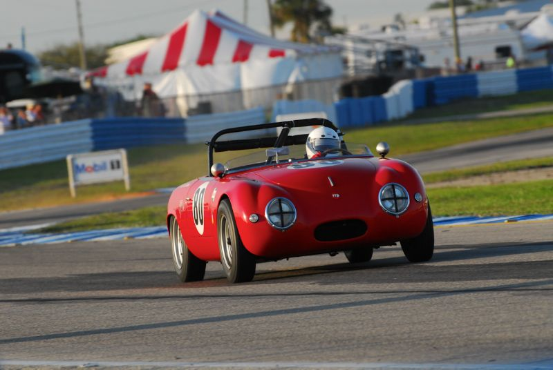 Tom Trabue- 1956 Denzel Roadster.