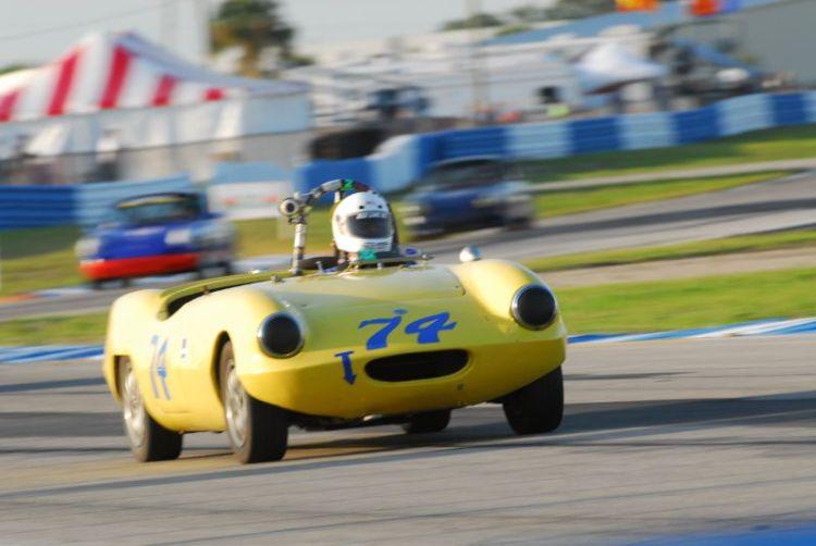 Bob Lembcke- 1961 Elva Mk1.