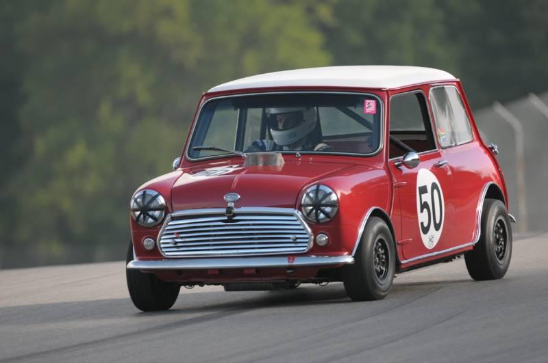 Mark Pentz 1966 Morris Mini Cooper.