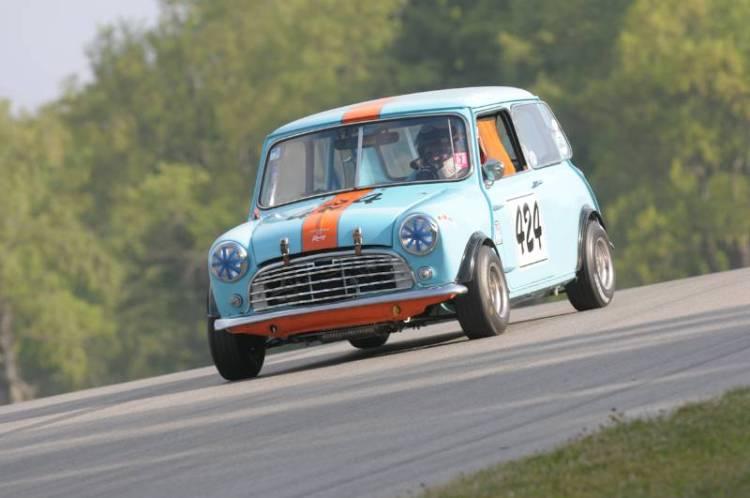Terry Milnes, ran a strong Austin Mini.