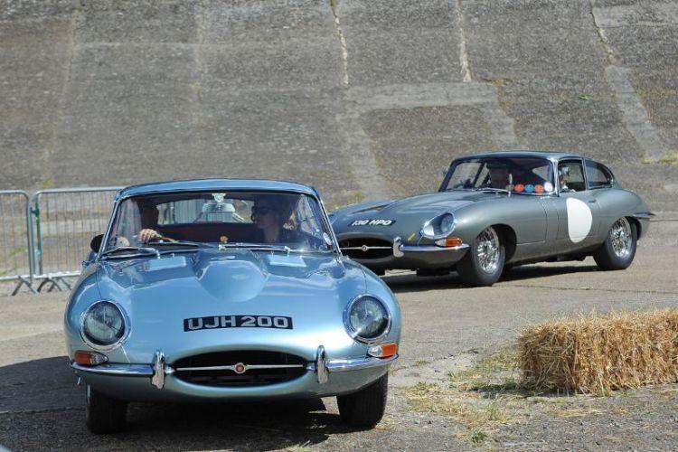 Pair of Jaguar E-Type Coupes