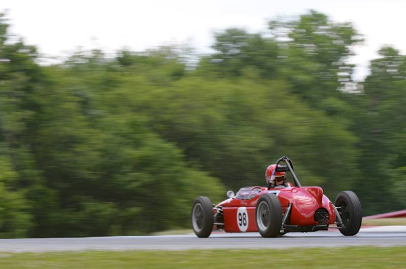 1960 Elva 200FJ, Ralph Salmon.