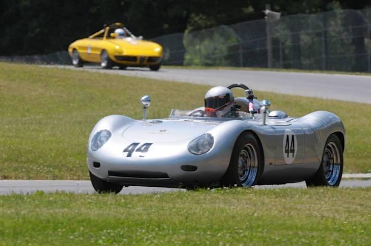 Sleek and quick John Higgins 1959 Porsche 718RSK.