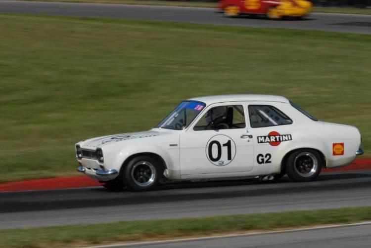 Peter/Mark Pentz 1968 Ford Escort TC.