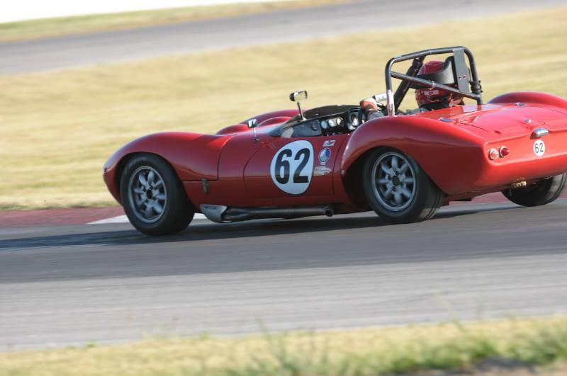 Lee Talbot- 1967 Ginetta G4.