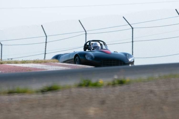 Max Heinman- Jaguar XKE.