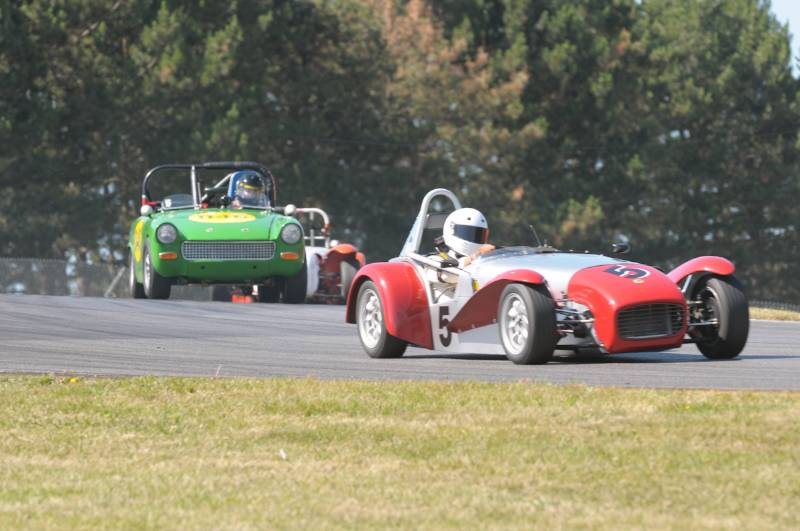 Craig Chima 1962 Lotus 7.