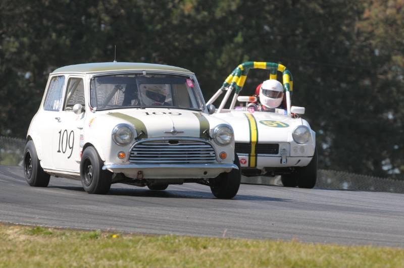 Mack McCormack- 1966 Austin Mini Cooper.