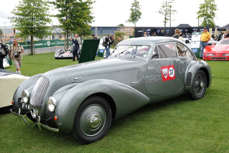 1938 Bentley 4 1/4 Litre 'Embericos' Pourtout Coupe