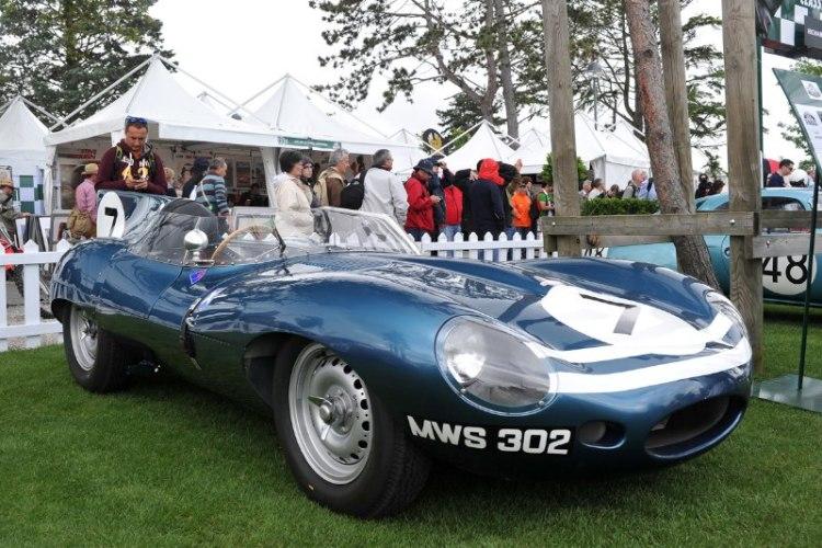 Jaguar D-Type - Le Mans Classic 2012