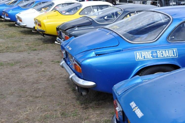 Alpine Club - Le Mans Classic 2012