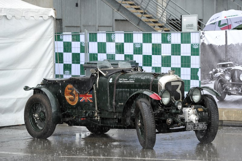Blower Bentley - Le Mans Classic 2012