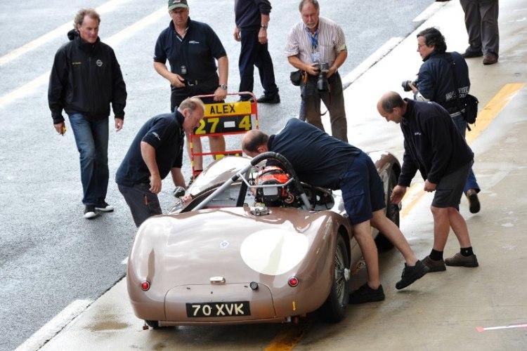 Jaguar C-Type - Le Mans Classic 2012