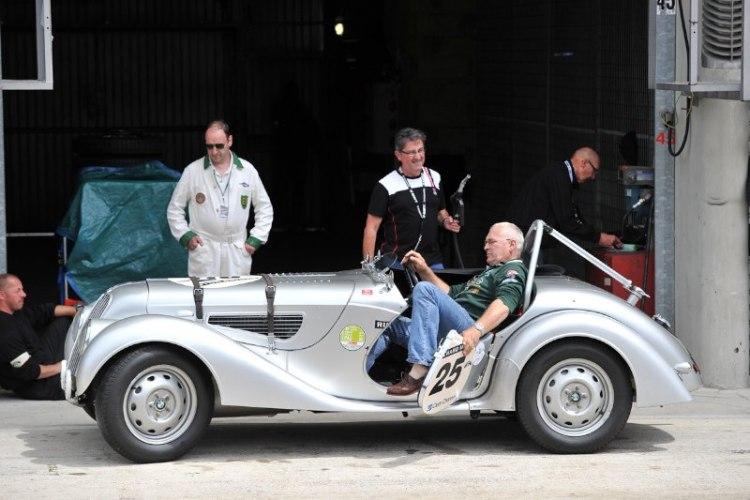 BMW 328 - Le Mans Classic 2012