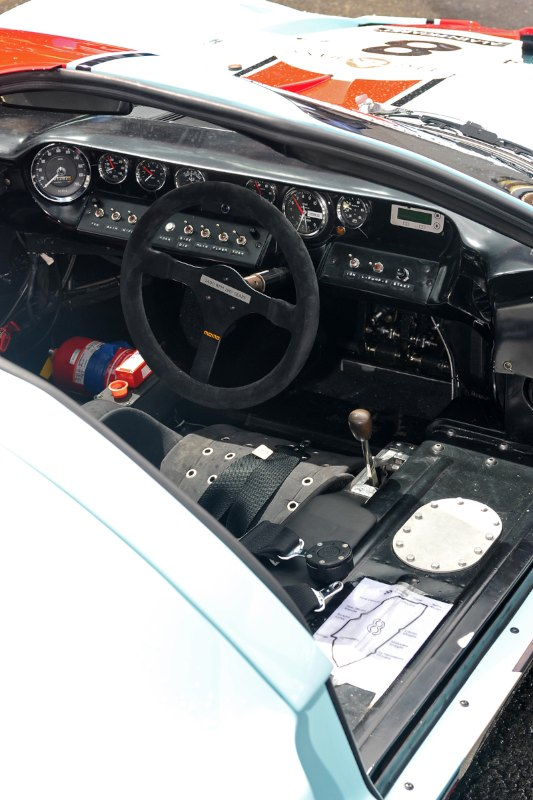 Ford GT40 Interior - Le Mans Classic 2012