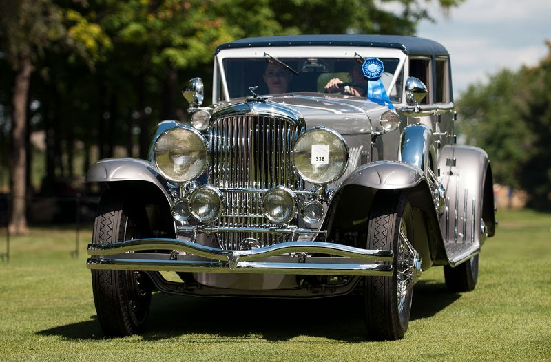 1930 Duesenberg Rollston SJ Victoria Convertible