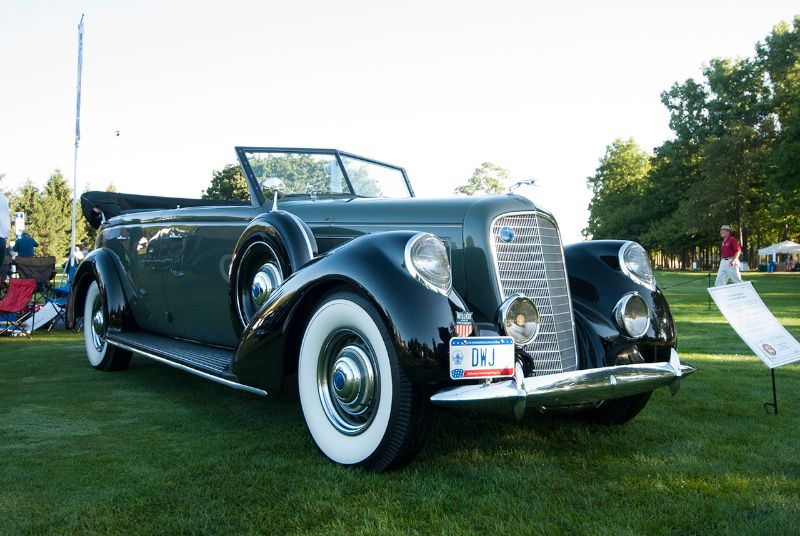 Concours d'Elegance of America 2012