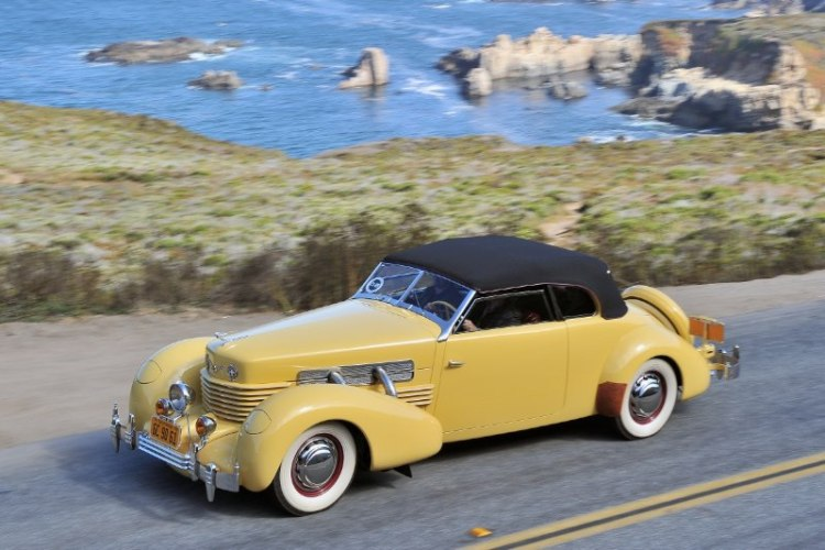 1937 Cord 812 SC Convertible Phaeton Sedan