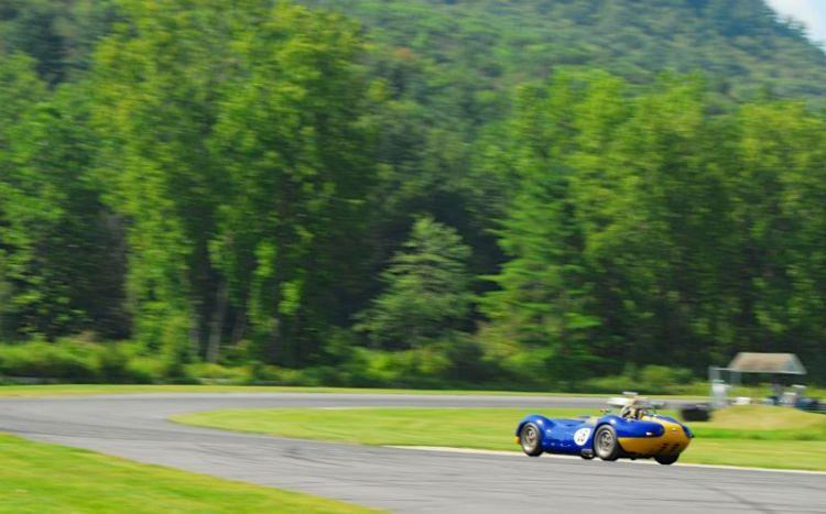 Tom Malloy- 1958 Lister Jaguar.