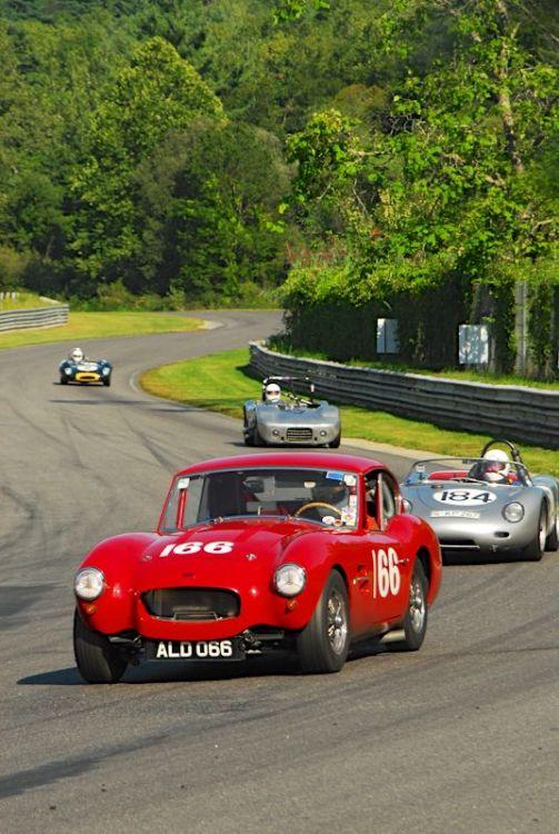 Bob Girvin's 1958 Allard GT.