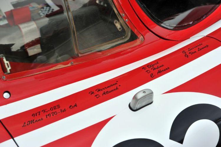 Porsche 917K won the 1970 24 Hours of Le Mans