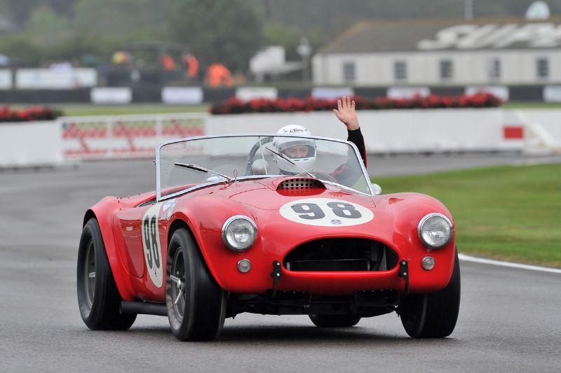 1963 AC Cobra driven by Bob Bondurant
