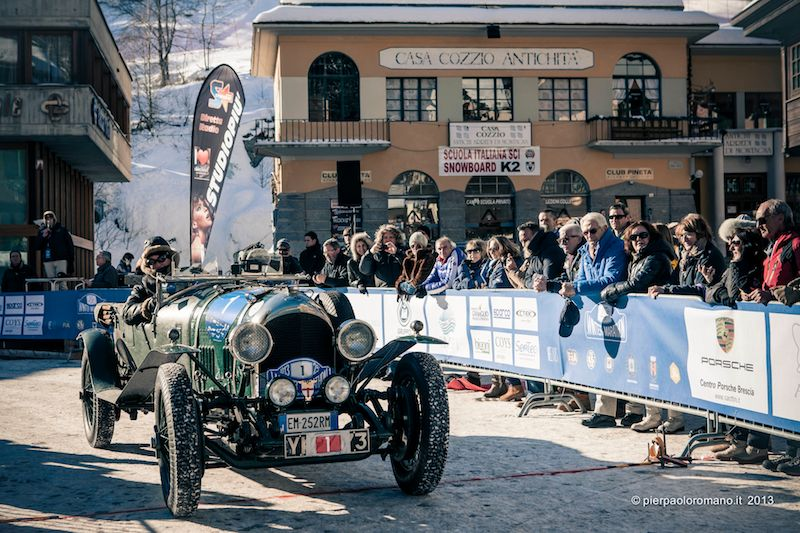 1925 Bentley 3 Litre - Winter Marathon Rally 2013