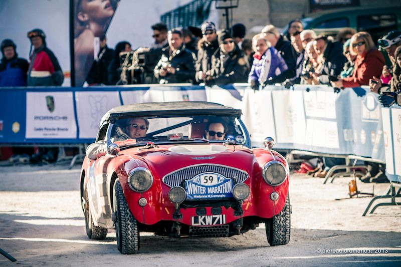 1953 Austin-Healey 100/4 BN1 - Winter Marathon Rally 2013