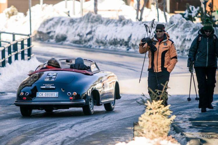 Porsche 356 Speedster - Winter Marathon Rally 2013