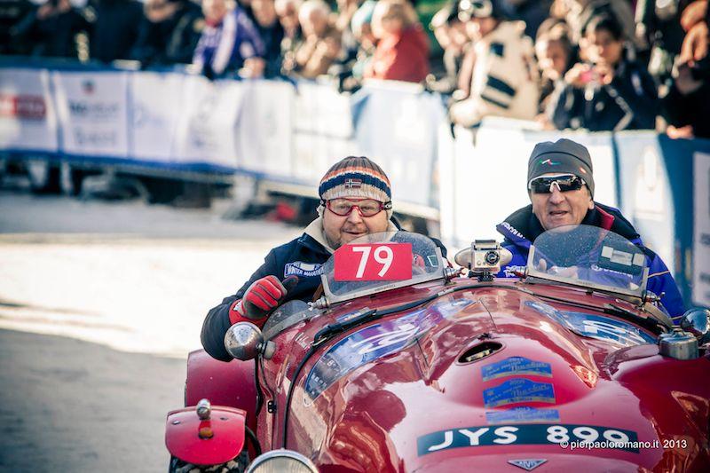 1952 Alvis Sports - Winter Marathon Rally 2013