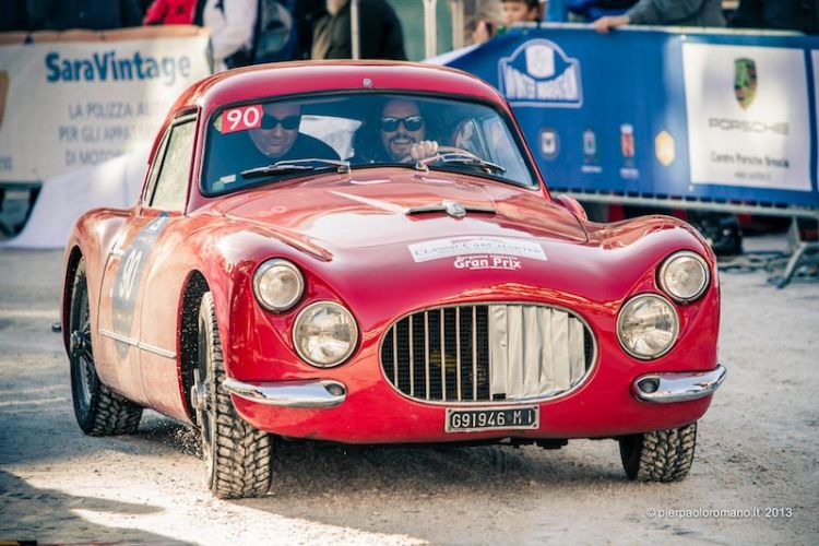 1953 Fiat 8V - Winter Marathon Rally 2013
