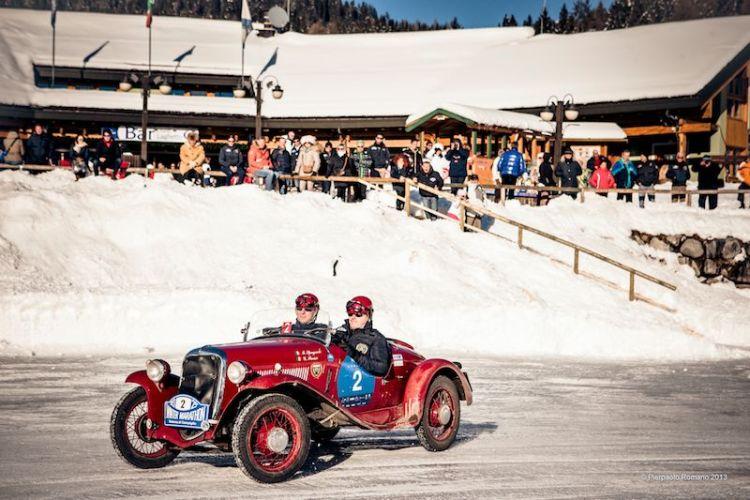 1932 Fiat 508 S Balilla Sport - Winter Marathon Rally 2013