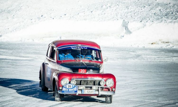 1965 Volvo PV544 - Winter Marathon Rally 2013