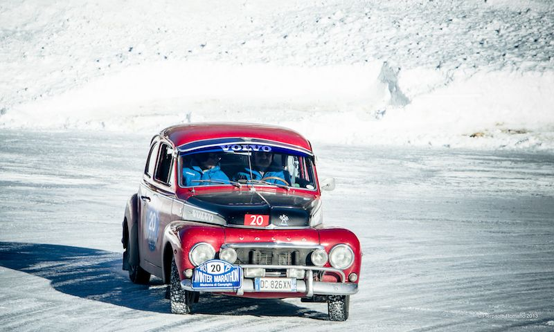 1965 Volvo PV544 - Winter Marathon Rally 2013