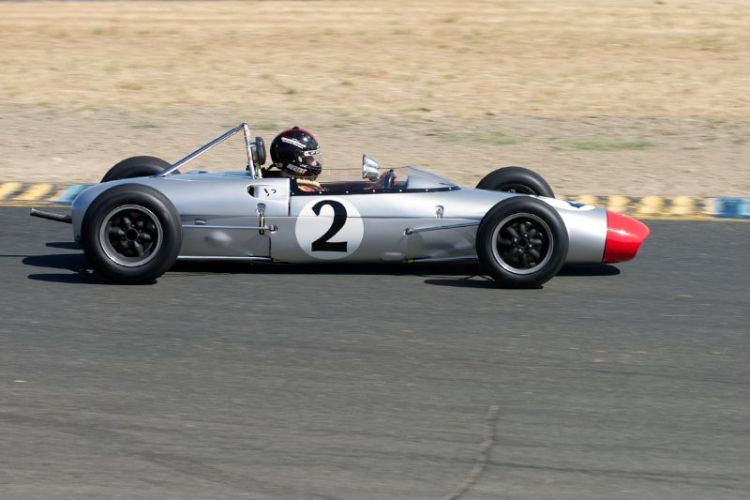 1963 Lola Mk.5A F-Jr driven by Art Hebert.