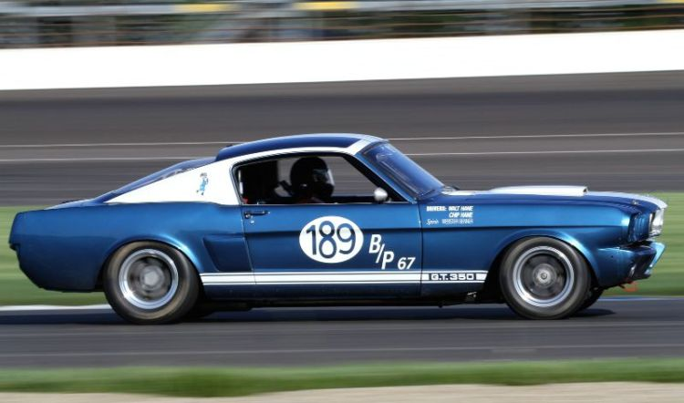 Roy Allen, 66 Shelby GT350