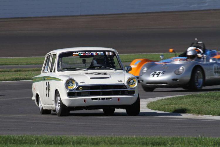 Don Heth, 66 Ford Cortina Lotus