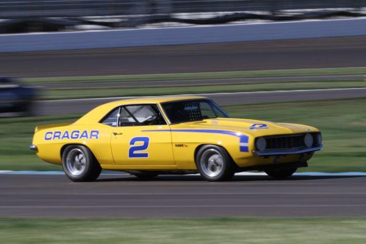 David Roberts, 69 Chevrolet Camaro