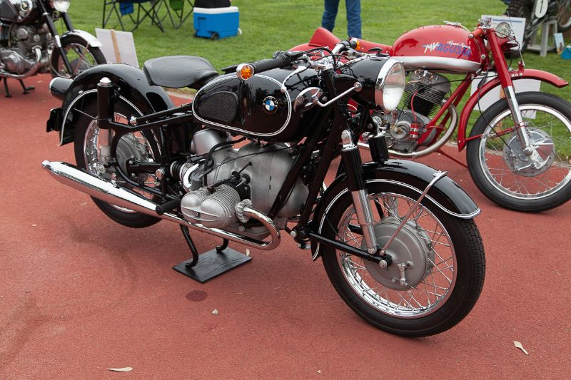 1966 BMW R69S, owned by Tom Armstrong.