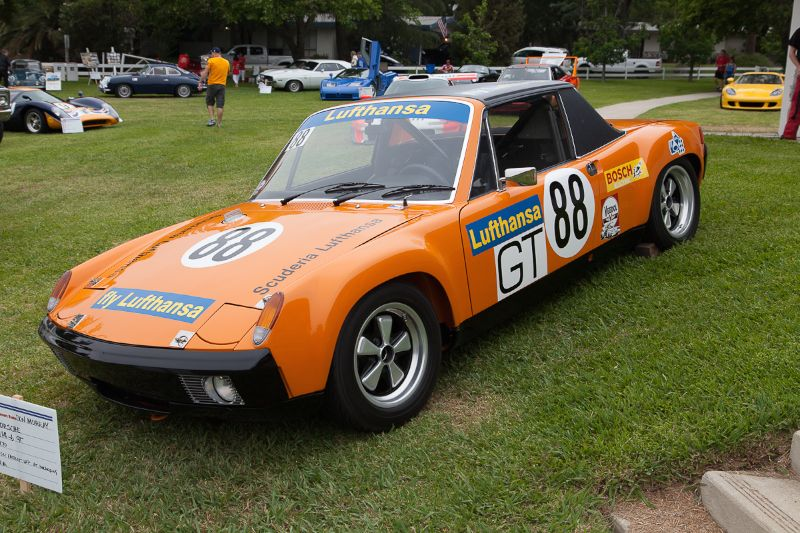 Don Murray's 1970 Porsche 914-6 GT, set the fastest lap at the Nurburgring 1000 km